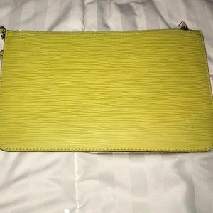 Louis Vuitton Epi Leather Pouch (limited edition)